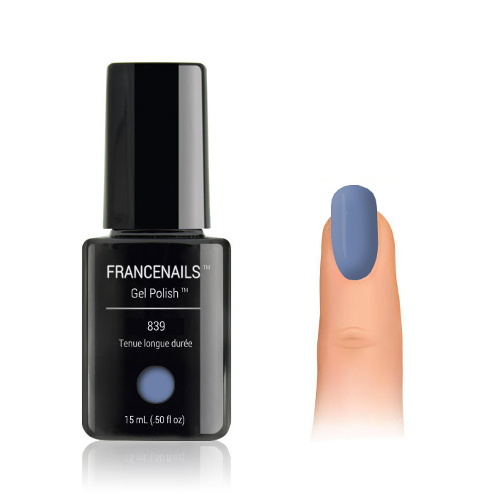 Vernis Permanent Bleu denim